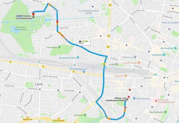 Huehner-Entenbraterei-Ammer-Nymphenburg-Theresienwiese-Route-Maps