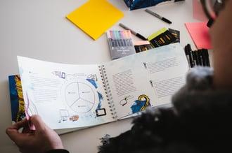Das ARITHNEA UX-Workbook - bekannte und neue Workhopmethoden bilden die perfekte Symbiose