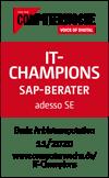 FAK_201203_ComputerWoche-Siegel_IT-Champions_SAP-Berater_adessoSE