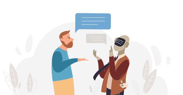 chatbot-roboter-sprache