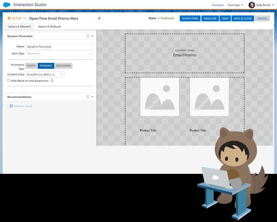 Salesforce Interaction Studio E-Mail